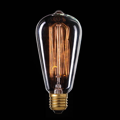 25w Incandescent Pear Filament Globe