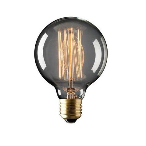 25w Incandescent Sphere Filament Globe