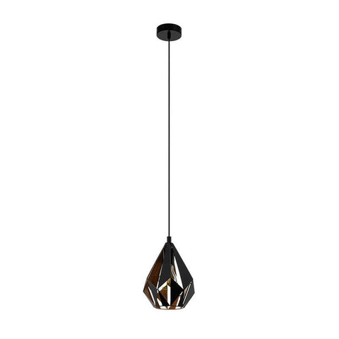 Carlton 1 205mm 1lt Pendant Light