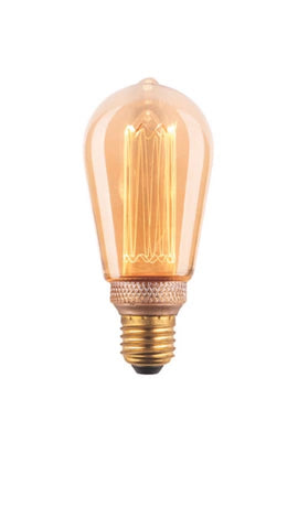 3.5w LED Vintage Style Pear Filament Globe