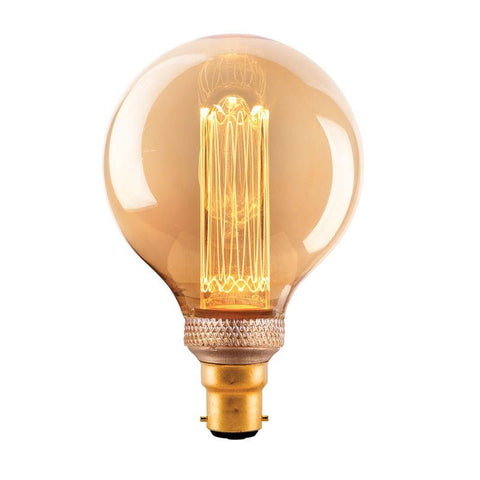 3.5w LED Vintage Style G95 Sphere Filament Globe