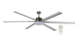 Albatross DC 6 Blade Metal Ceiling Fan with LED Light