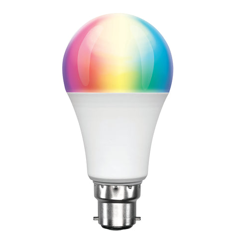 Brilliant Smart Wifi A60 Globe - RGB Colours + White