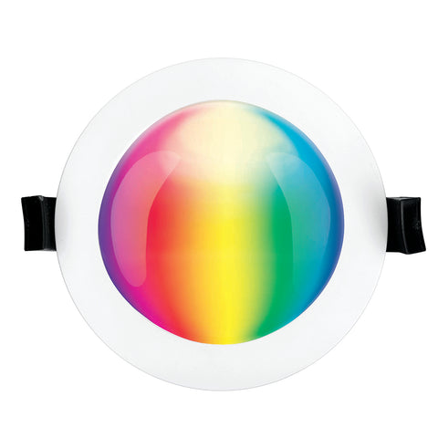 Brilliant Smart Prism 10w  LED Wifi Downlight - RGB+CCT White