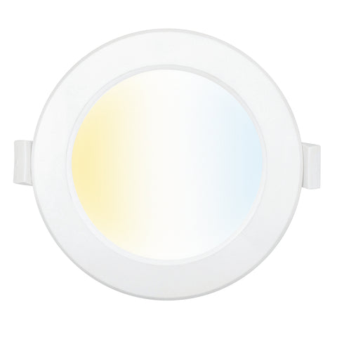 Brilliant Smart Trilogy 9w 90mm LED Wifi Downlight White - CCT White