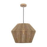 Cassie Woven String Pendant Light Natural