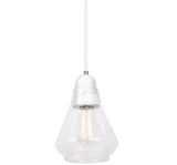 Ellise 1lt Clear Glass Pendant Light