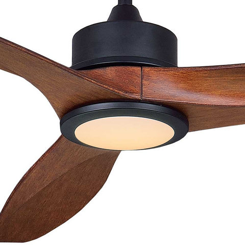Dakota 3 Blade DC Ceiling Fan & LED Light