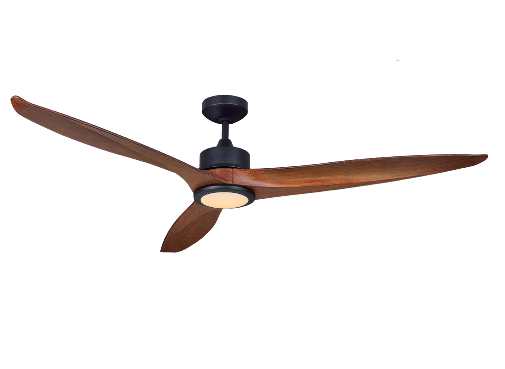 Dakota 3 Blade 60 Dc Ceiling Fan With Led Light