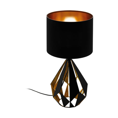 Carlton 5 Table Lamp with Fabric Drum Shade