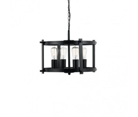 Finley Metal Drum Pendant Light