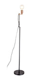 Kahil Floor Lamp Black/Antique Copper