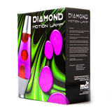 Diamond Silver Lava Lamp