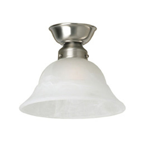 Trend DIY Glass Alabaster Batten Fix Ceiling Light