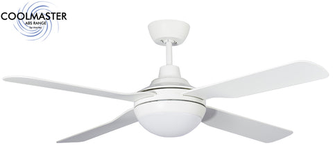 Discovery 4 Blade Ceiling Fan with LED Light