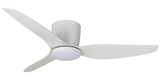 Flush 3 Blade 50'' 1270mm ABS AC Close to Ceiling Fan with LED Light