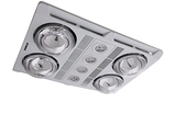 Profile Plus Bathroom 3in1 Exhaust Fan / Heat / LED Light