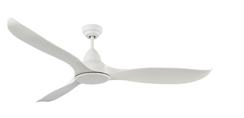 Martec Wave 3 Blade ABS DC Remote Control Ceiling Fan