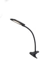 Bryce LED Clip on Clamp Adjustable Touch Dimming Reading Lamp