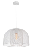Milford 1lt Double Layer Wire Mesh Pendant Light