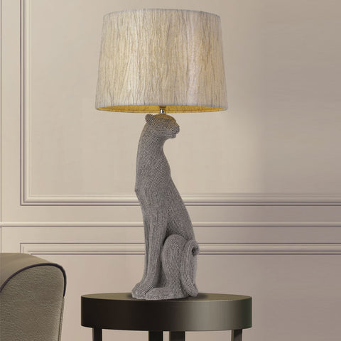 Nala Cat Table Lamp and Shade