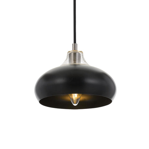 Beck Metal & Glass Pendant Light