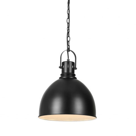 Market 1lt Industrial Metal Pendant Light