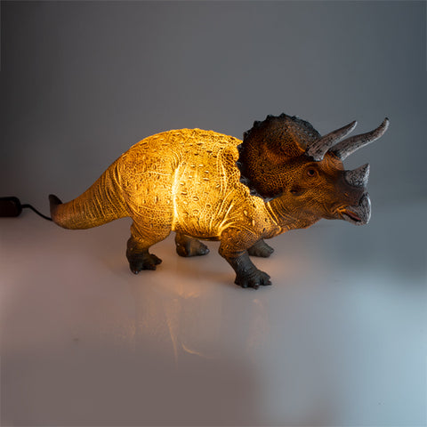 Triceratops Dinosaur Table Lamp