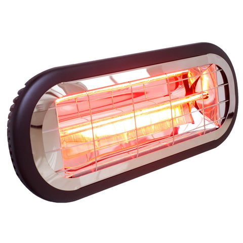 Sunburst Mini Outdoor Electric Infrared Radiant Strip Heater IP65