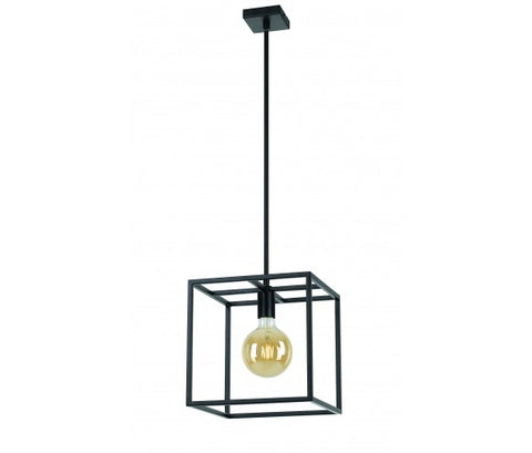 Collins Pendant Light Matt Black