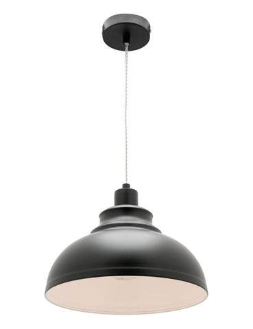 Risto 1lt Metal Shade Pendant Light