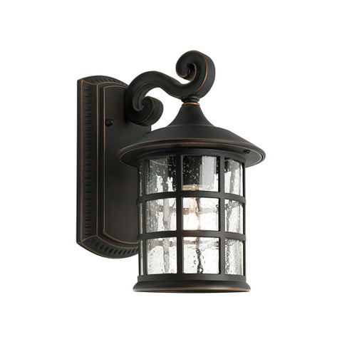 Coventry Exterior Wall Light Lantern Bronze