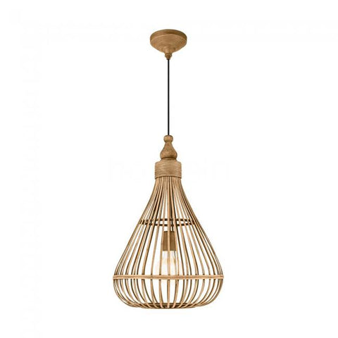 Amsfield 1lt Bell Basket Pendant Light Natural