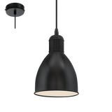 Priddy Pendant Light Black