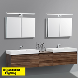 Pandella 1 LED Vanity Wall Light Chrome