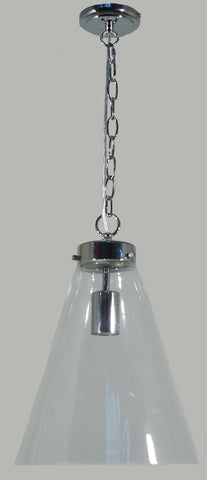 Gatsby Pendant Light Clear