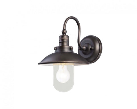 Port Wall Exterior Light Bronze/Clear