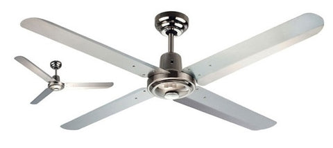 Trisera 3 or 4 Metal Blade Ceiling Fan