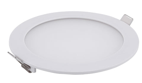 Slick LED Panel Down Light Round White