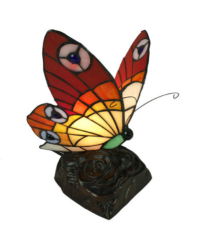 Butterfly Lead Light Table Lamp