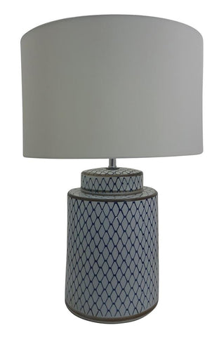 Toongabbie TL1841 Round Hampton's Table Lamp and Shade