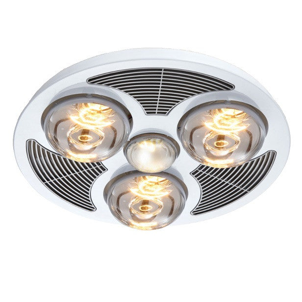 Steampro Bathroom 3in1 Light/Heat/Exhaust Fan - Roundabout ...