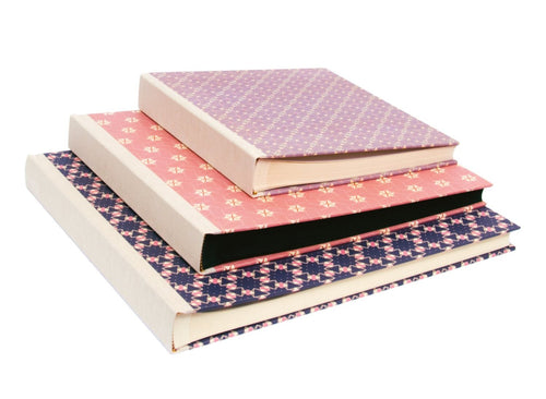 Patterned Photo Albums