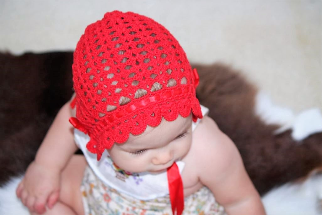 e2ba0be71 7 rompers to wear with our red crochet bonnet. – Petite & Precious
