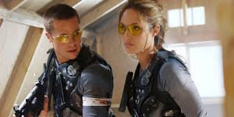 LoveDrop Life | Our Blog | 10 movies to get you in the mood | Mr & Mrs Smith