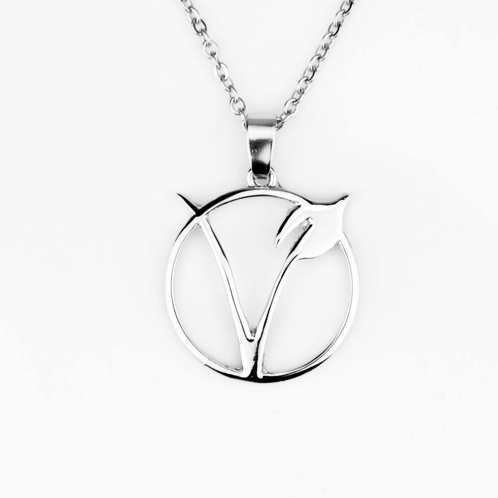 """V"" Symbol Necklace"