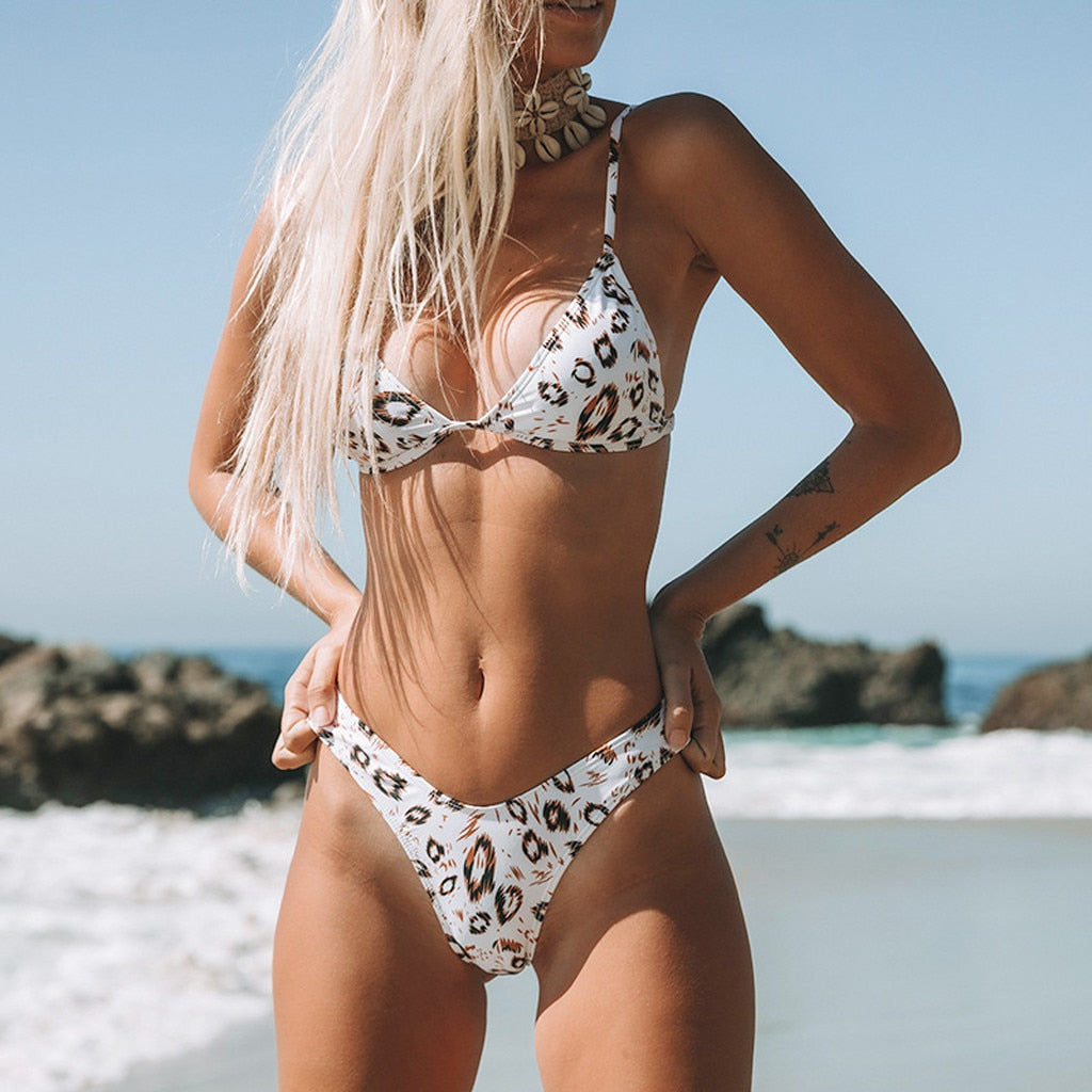 Printed Fancy Bikini