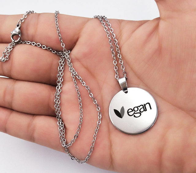 Vegan Stainless Steel Necklace