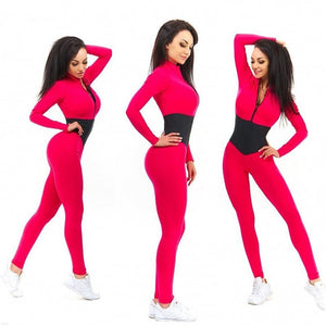 Front Zip Fitness Set