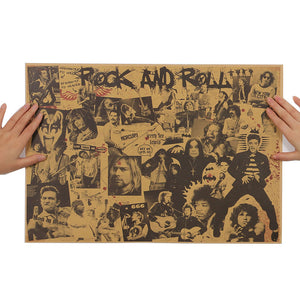 Rock and Roll Vintage Poster